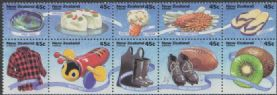 NZ SG1797a New Zealand Life (1st series) booklet pane